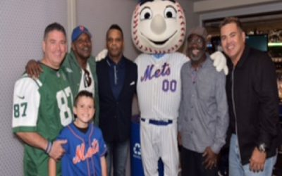 NY JETS AND NY METS JOIN NASSAU COUNTY POLICE PBA FOR ANNUAL ORPHANS AND WIDOWS EVENT AT CITIFIELD